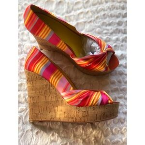 Nine West Rainbow Wedge